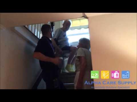 Bruno Stair Lift Installation