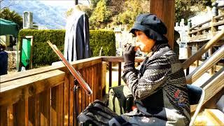 竹原市・照蓮寺にて ドラマ主題歌『やすらぎの郷』より~中島みゆき 『慕...