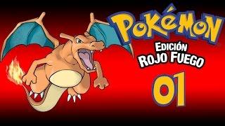 POKEMON ROJO FUEGO | #01 CHARMANDER, TE ELIJO A TI!!