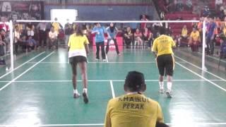 Sukan KKM Melaka 2014 Final Badminton