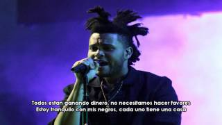 Repeat youtube video The Weeknd - Drunk In Love (Remix Subtitulado Español)