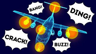 Why Planes Are So Loud Inside