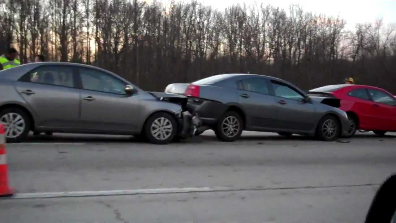 Car accident on route 50