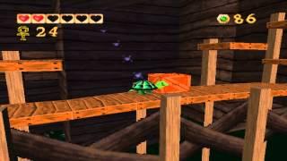 Pandemonium PC gameplay. (HQ). Level 12 - Honcho's Logmill.