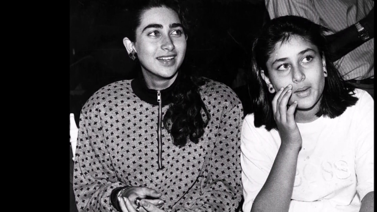 Childhood Photos of Karishma Kapoor and Kareena Kapoor ...