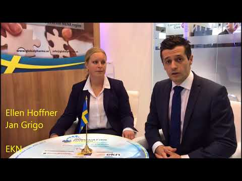EKN (Swedish Export Authority) - An overview of The Innovation Pavilion by Sweden, Arab Health 2018