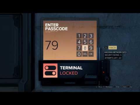 Deus Ex: Mankind Divided: Vincent Black's Wall Safe Keypad - TF29 Level 2