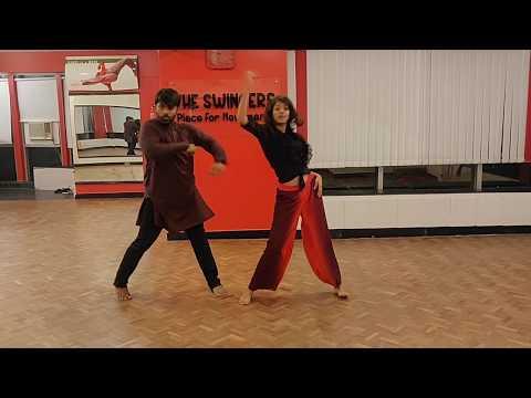 Bollywood ft Tarun, Sahana | Dathing Naach | Tutorials | The Swingers dance inc