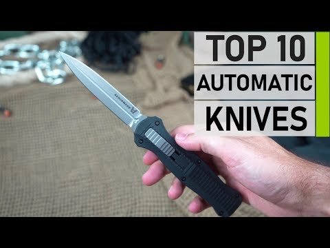 Top 10 coolest Automatic Knives | Best Spring Assisted Knife