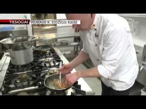 Virtuvės šefo Mariaus Šulco įkvėptos keptos vištienos šlaunelės (tiesiogiai)