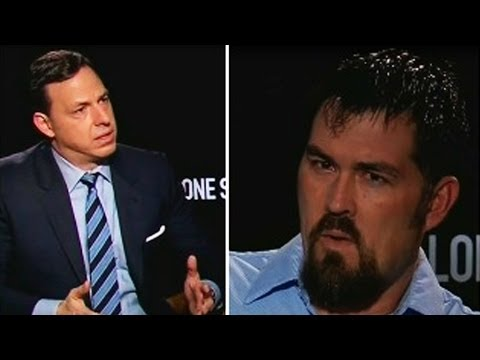 """Watch """"Lone Survivor"""" Marcus Luttrell's Insanely Tense Interview with Jake Tapper"""