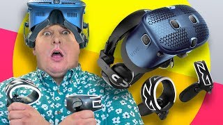 HTC Vive Cosmos VR headset first impressions