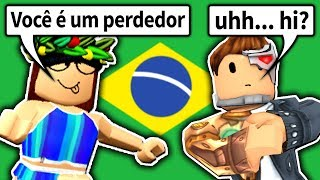 I played this weird game from BRAZIL... and WON?! (Roblox Big Brother)