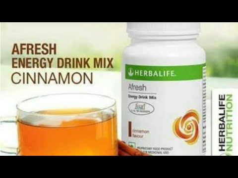 how-to-use-herbalife-afresh-mix-in-hindi-||best-weight-loss-tea||