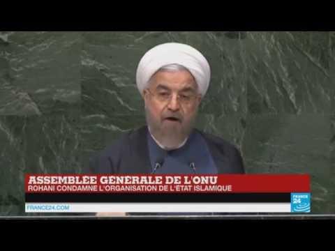 REPLAY : Revivez le discours de Hassan Rohani devant l'ONU