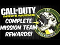 Complete Mission Team Rewards: JTF Wolverines! (Call of Duty Infinite Warfare Mission Teams)