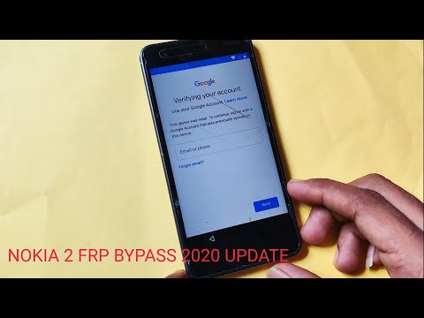 Nokia 2 FRP Bypass 2020 Update Without PC
