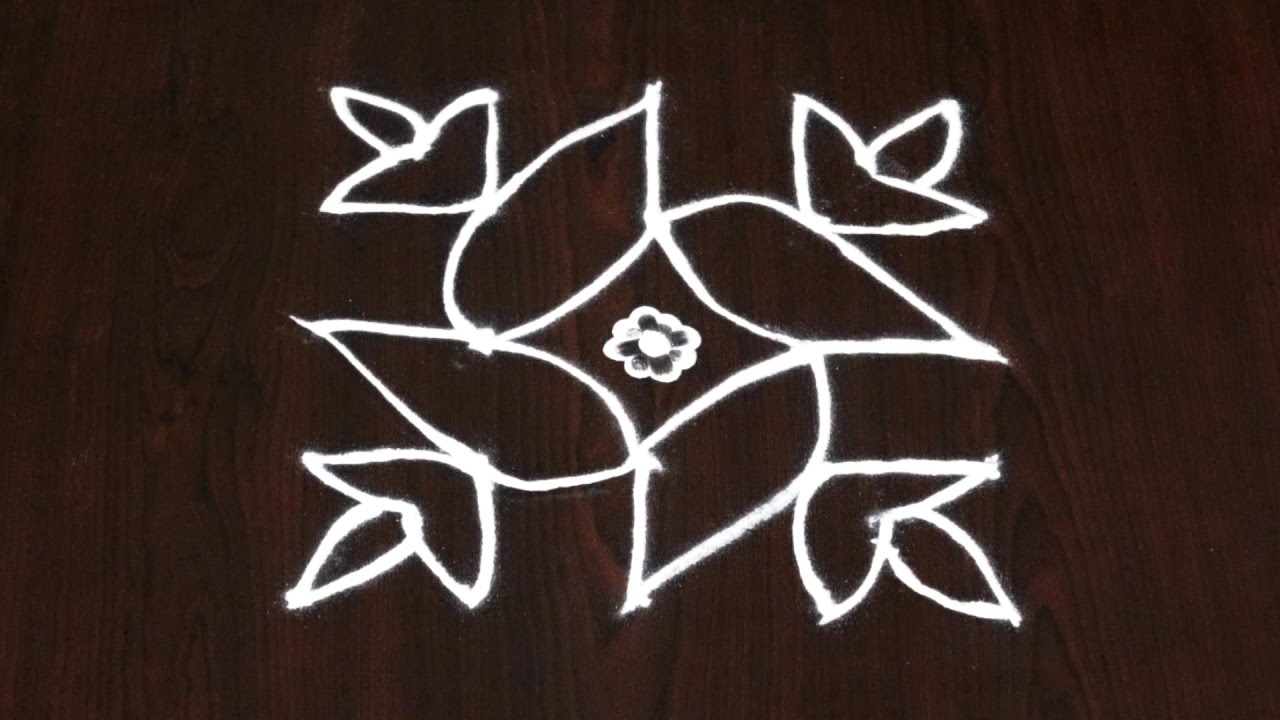 after effects tutorials 5 dots simple kolam 5 dots rangoli