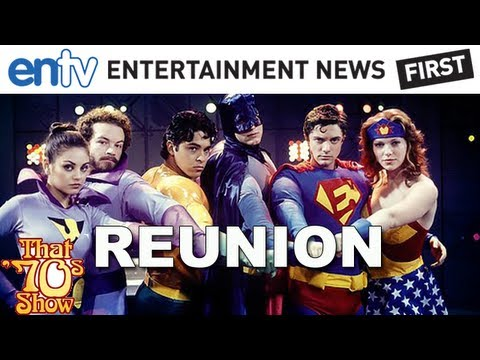 "That 70s Show Reunion: ""Men At Work"" With Danny Masterson, Wilmer Valderrama & Laura Prepon"