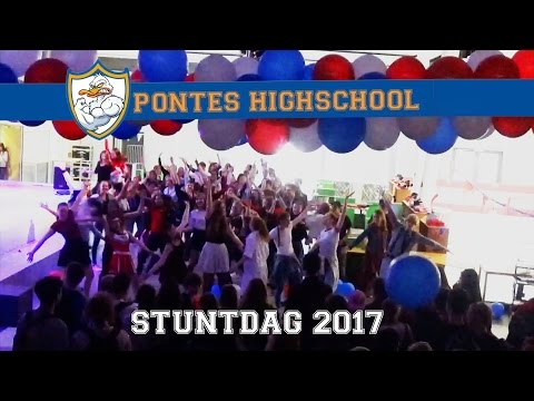 STUNTDAG PONTES 2017: Trump, HSM Flashmob, Rodeo, Ice Skating, Karaoke