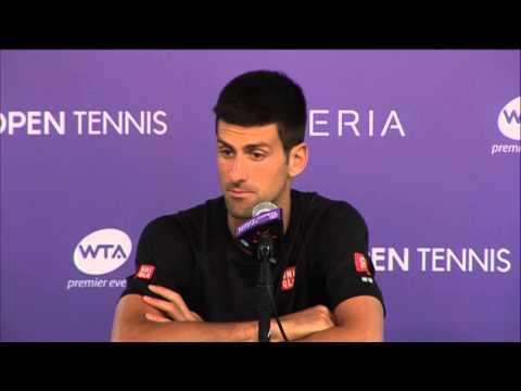 Miami 2014 Friday Interview Djokovic