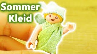 Playmobil DIY deutsch | HANNAH Vogels Sommer Kleid für den Strand selber machen | Kleidung Batik