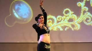 Berit Aicha Vill (EST) performing Raks Mystique