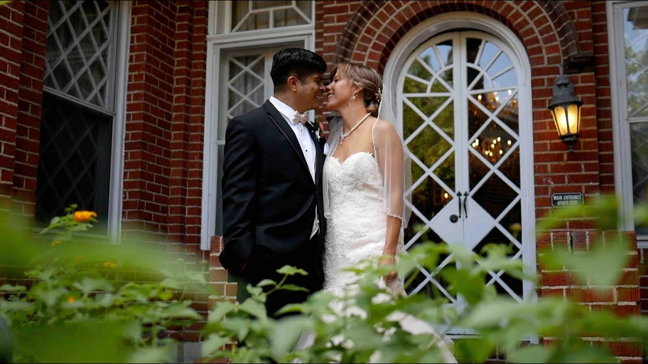 Historic Mankin Mansion wedding filmed by eMotion Pictures Wedding Films