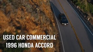 Used Car Commercial // 1996 Honda Accord thumbnail