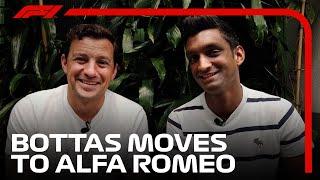 Valtteri Bottas Moves To Alfa Romeo For 2022