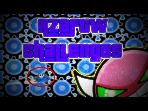 NICE HITBOXES ~ Geometry Dash MORE AzaFTW Challenges