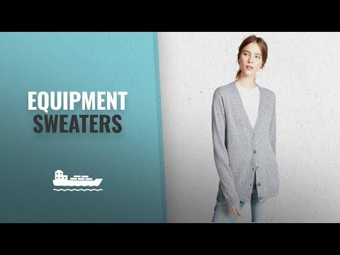 Los 10 Productos Más Vendidos De Equipment: Equipment Women's Whitley Cashmere Cardigan