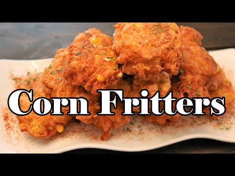 Easy Corn Fritters | Chef Lorious