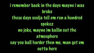 Soulja Boy - Speakers Going Hammer with lyrics - The DeAndre Way