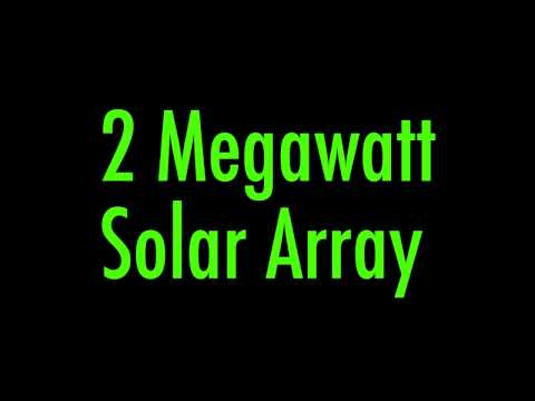 Hardt Electric/SunPower® Macy's 2 Megawatt Solar PV Array