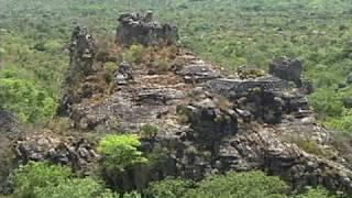 Parque Nacional. Sete cidades do Piauí.