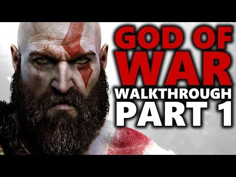 GOD OF WAR PS4 GAMEPLAY WALKTHROUGH | PART 1