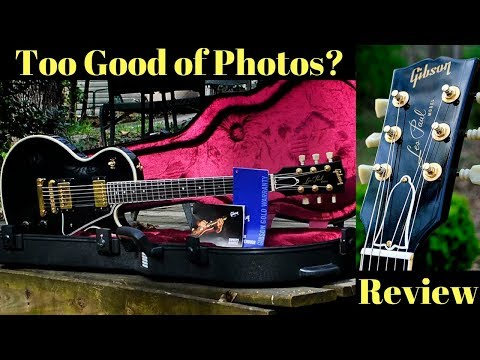 Is It Possible to Take TOO Good of Photos? 1983 Gibson Les Paul 'Studio Custom' Black  Review + Demo