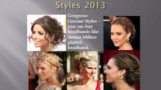 Current trends in Formal Hair Styles 2013 Thumbnail