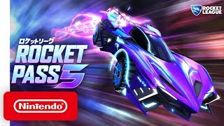 Rocket League - Rocket Pass 5 Announcement Trailer - Nintendo Switch