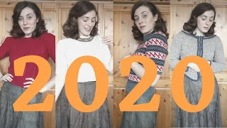 Everything I Knit it 2020 | Knitting Year in Review