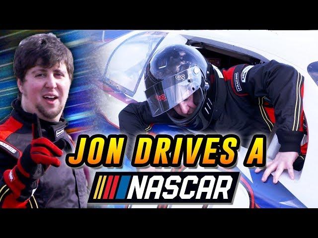 Racing a NASCAR Driver - JonTron