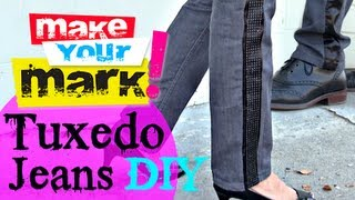 How to:  Make Tuxedo Jeans His/Her