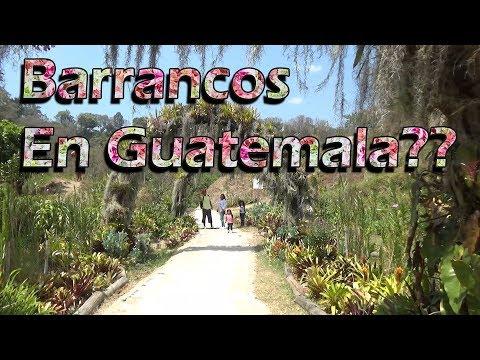 Esto se hace con los barrancos en Guatemala | Ciudad Guatemala