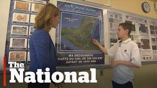 Quebec teen locates possible lost Mayan city
