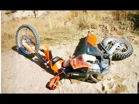 BROKE MY NEW BIKE AT OCOTiLLO WELLS!!