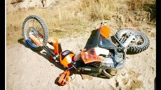 BROKE MY NEW BIKE AT OCOTiLLO WELLS!!
