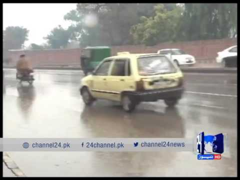 24 Report: The meteorological department forecast heavy rains in Karachi