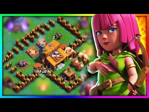 """YOU NEED To SEE THIS """"BUILDERS VILLAGE"""" GLITCH in Clash of Clans!"""