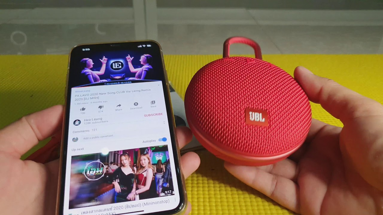 Unboxing RED JBL Clip 3 wonderful sound quality